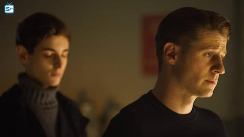 David Mazouz Ben McKenzie Transference Gotham