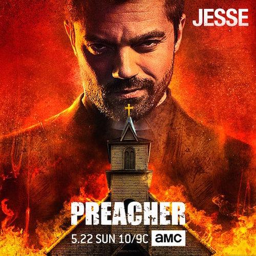 Dominic Cooper Jesse Custer Preacher Poster
