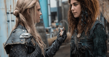 Eliza Taylor Nadia Hilker The 100 Red Sky at Morning