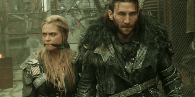 Eliza Taylor Zach McGowan The 100 Perverse Instantiation