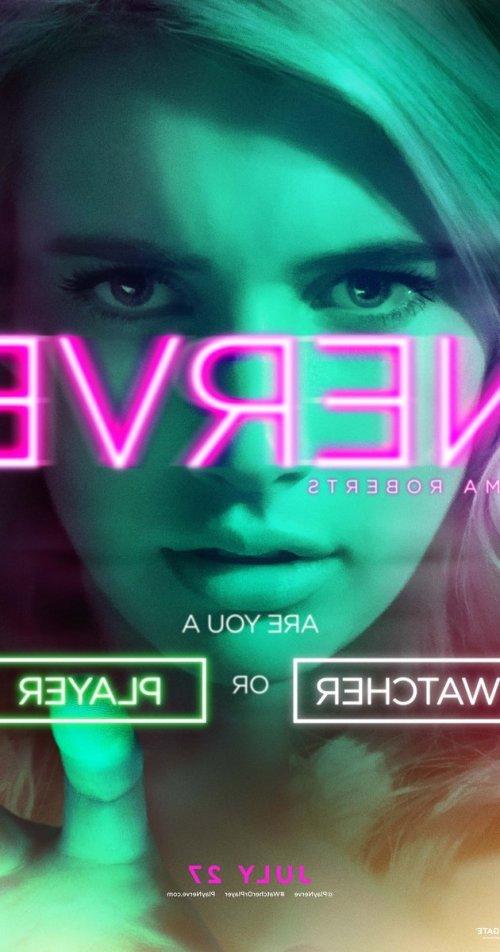Emma Roberts Nerve movie poster