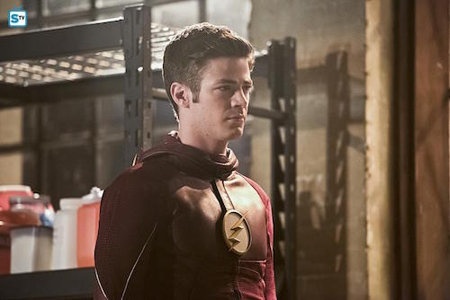 Grant Gustin Invincible The Flash