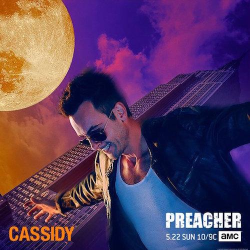 Joe Gilgun Cassidy Preacher Poster