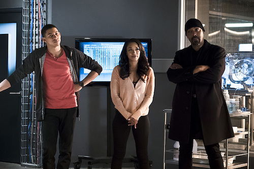 Keiynan Lonsdale Candice Patton Jesse L. Martin The Race of His Life The Flash