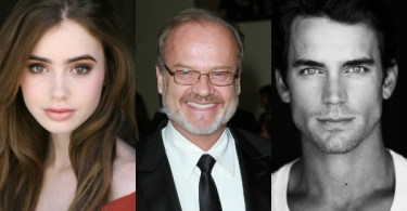 Lily Collins Kelsey Grammer Matt Bomer The Last Tycoon