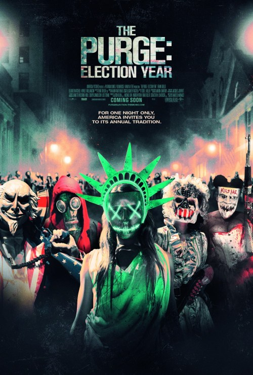 The Purge: Election Year U.K. movie poster