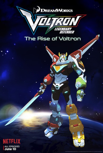 Voltron: Legendary Defender Final Poster