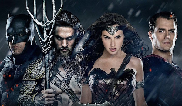 Justice League Batman Aquaman Wonder Woman Superman