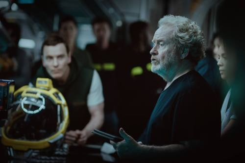 Michael Fassbender Ridley Scott Alien: Covenant