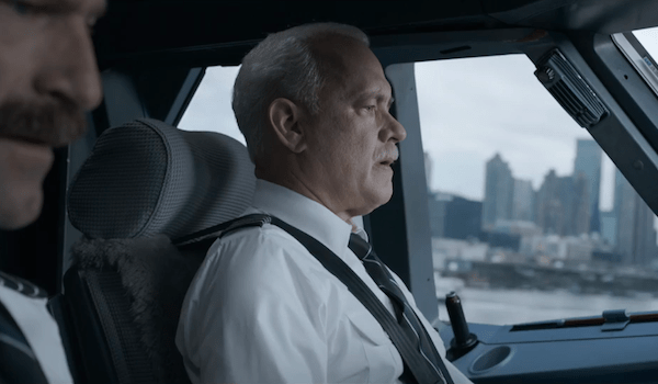 Tom Hanks Aaaron Eckhart Sully