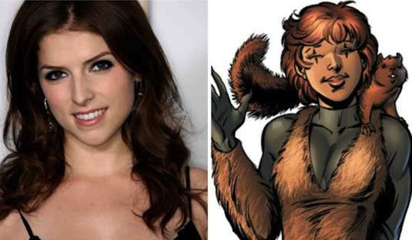 Anna Kendrick Squirrel Girl Comic