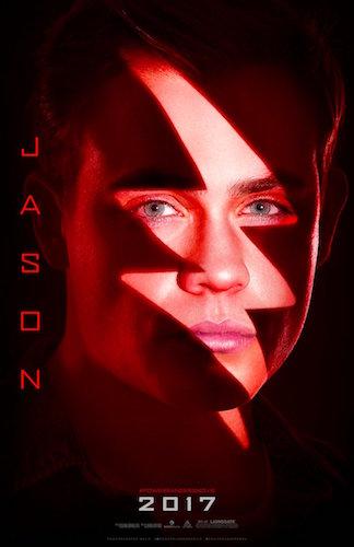 Dacre Montgomery Jason Power Rangers Poster