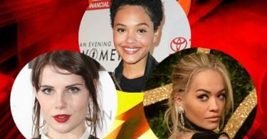 Kiersey Clemons Lucy Boynton Rita Ora The Flash