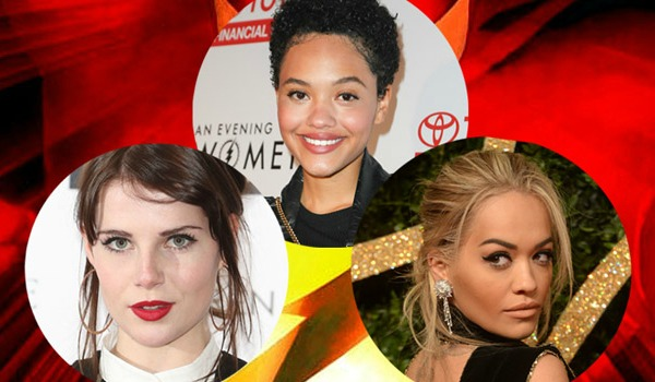 Kiersey Clemons Lucy Boynton Rita Ora The Flash
