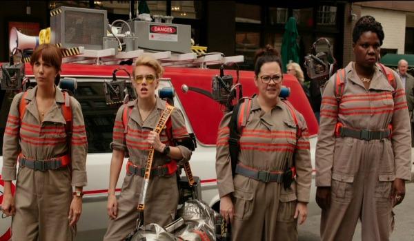 Kristen Wiig Leslie Jones Melissa McCarthy Kate McKinnon Ghostbusters