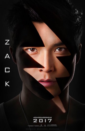 Ludi Lin Zack Power Rangers Poster