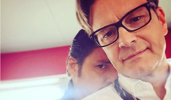 Pedro Pascal Colin Firth Kingsman: The Golden Circle Instagram