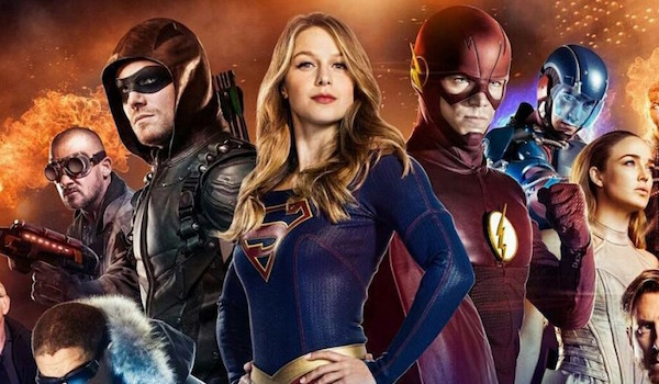Supergirl Arrow The Flash Legends of Tomorrow