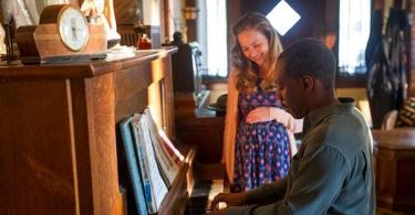 Britt Robertson Eddie Murphy Mr. Church