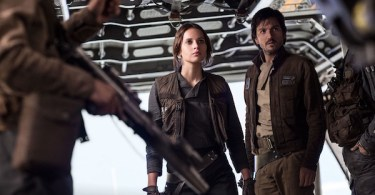 Diego Luna Felicity Jones Rogue One: A Star Wars Story