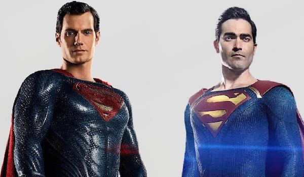 Henry Cavill Tyler Hoechlin Superman
