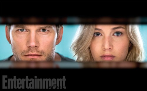 Jennifer Lawrence Chris Pratt Passengers Entertainment Weekly