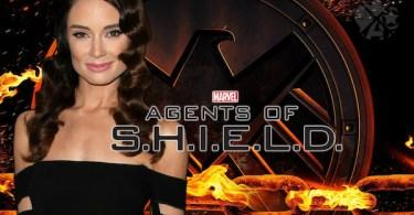 Mallory Jansen Agents of SHIELD