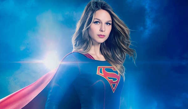 Melissa Benoist Supergirl Season Two Poster