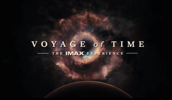Voyage of Time The IMAX Experience Logo