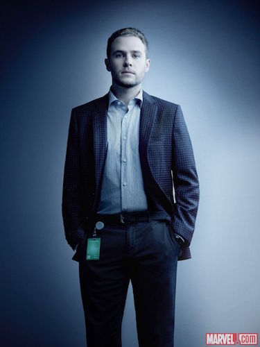 Ian de Caestecker Agents of SHIELD Season Four Photo