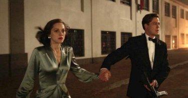 Brad Pitt Marion Cotillard Allied