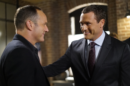 Clark Gregg Jason O'Mara Agents of SHIELD Season Four