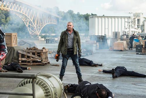 Dominic Purcell Out of Time Legends of Tomorrow