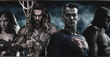 Gal Gadot Jason Momoa Henry Cavill Ben Affleck Justice League