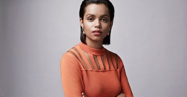 Georgina Campbell Orange Dress