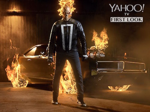 Ghost Rider Agents of SHIELD First Look