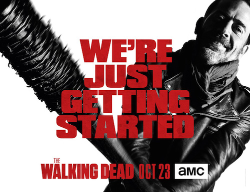 Jeffrey Dean Morgan The Walking Dead Season Seven Poster