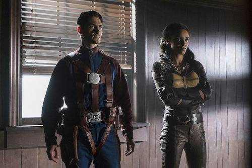 Matthew MacCaull Maisie Richardson-Sellers Justice Society of America Legends of Tomorrow