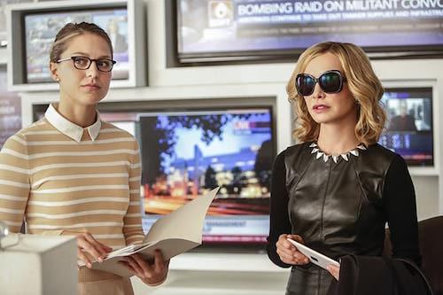 Melissa Benoist Calista Flockhart Supergirl Season Two