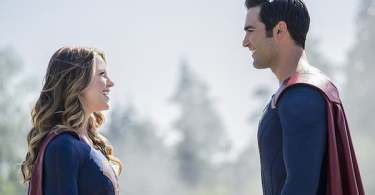 Melissa Benoist Tyler Hoechlin Supergirl Season Two