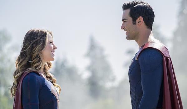Melissa Benoist Tyler Hoechlin Supergirl Season Two