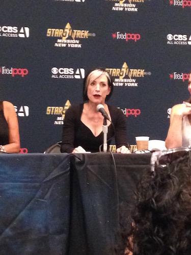 Nana Visitor The Women of Star Trek Panel
