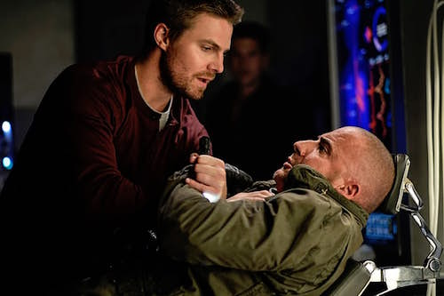 Stephen Amell Dominic Purcell Out of Time Legends of Tomorrow