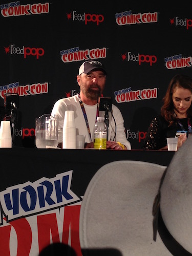 Beau Smith Wynonna Earp Panel NYCC 2016