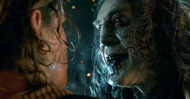 Brenton Thwaites Javier Bardem Pirates of the Caribbean: Dead Men Tell No Tales