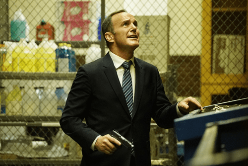 Clark Gregg Agents of S.H.I.E.L.D. Lockup