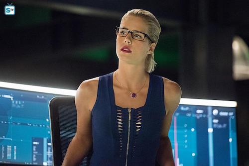 Emily Bett Rickards Human Target Arrow