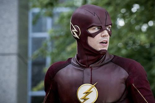 Grant Gustin Monster The Flash