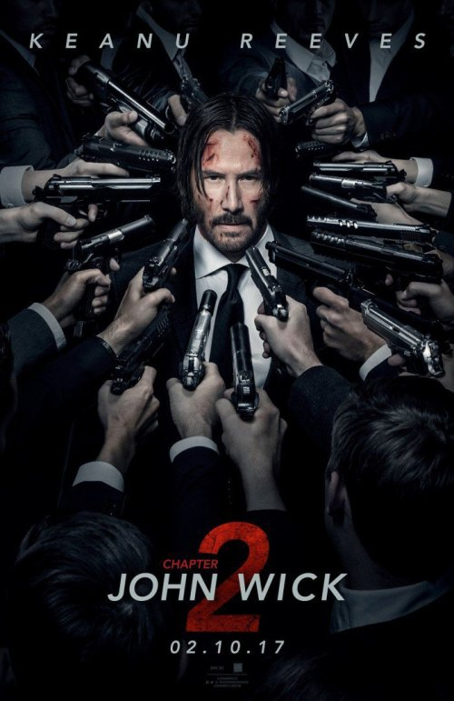 John Wick: Chapter 2 NYCC 2016 Movie Poster