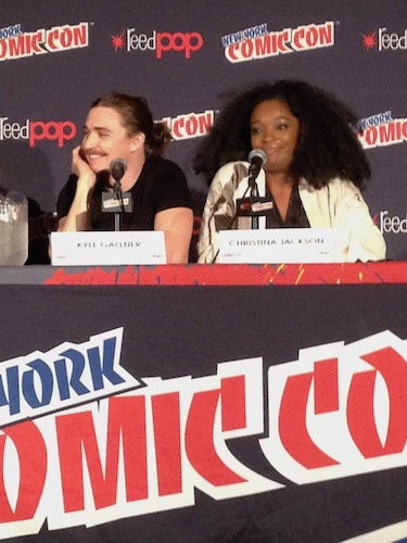 Kyle Gallner Christina Jackson Outsiders Panel NYCC 2016